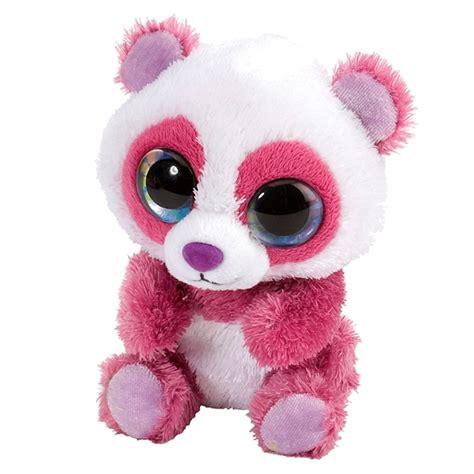Panda Pink cherry the lil sweet and sassy stuffed pink panda by