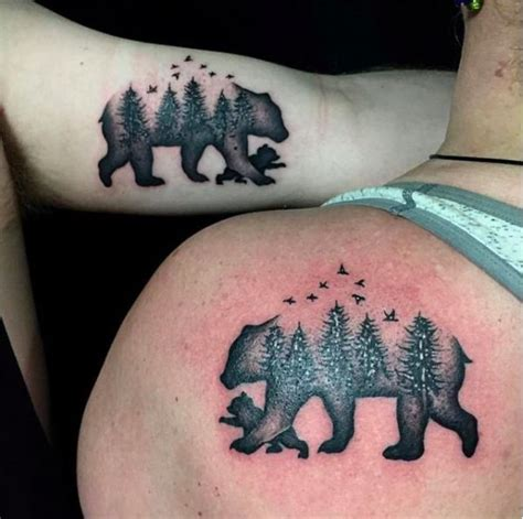 baby bear tattoo best 25 for ideas on tattoos for