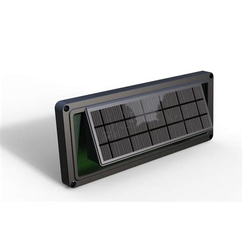 Eleding Dark Brown Solar Powered Sound Activated Solar Dusk To Lights
