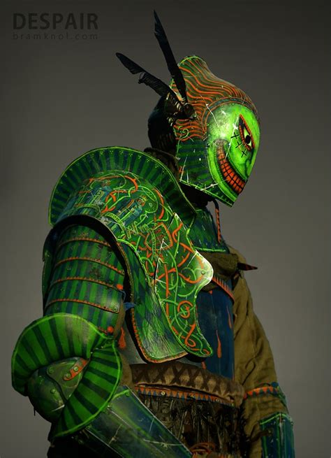 green knight armor   included image despair