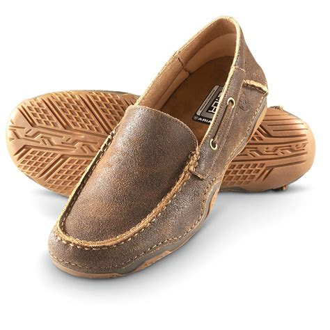 ariat s gleeson slip ons weathered brown 580133