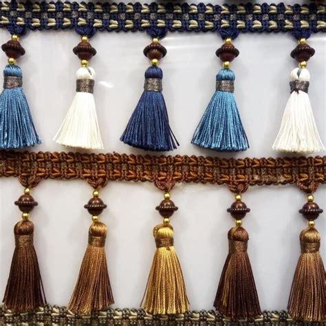 drapery sewing 12 yard lot continental curtain lace accessories tassel