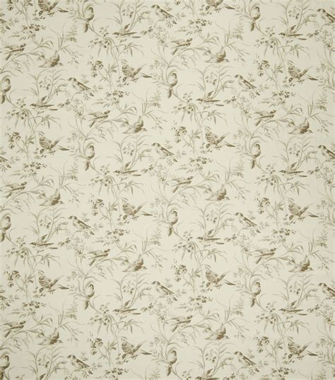 french general upholstery fabric home decor print fabric jaclyn smith bird bisque jo ann