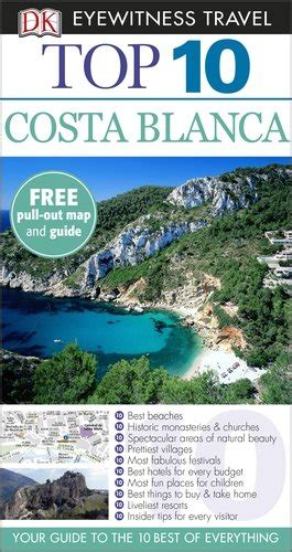 libro dk eyewitness travel guide dk eyewitness top 10 travel guide costa blanca guide turistiche panorama auto