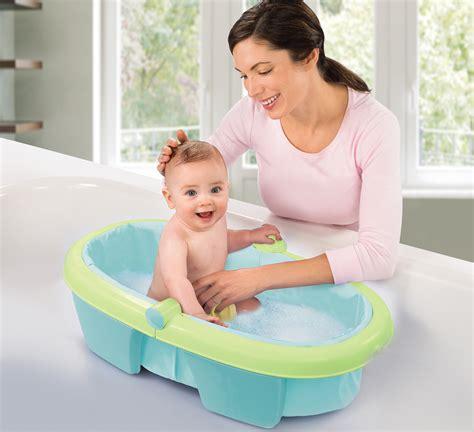summer infant to toddler bathtub summer infant newborn to toddler fold away baby bath child travel tub bn ebay