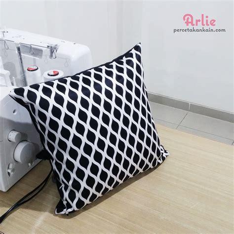 Sarung Bantal cara membuat sarung bantal sofa arlie percetakan kain