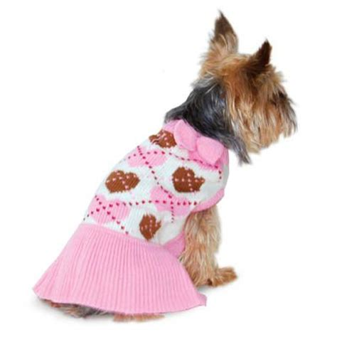 preppy puppy preppy sweater dress clothes at glamourmutt