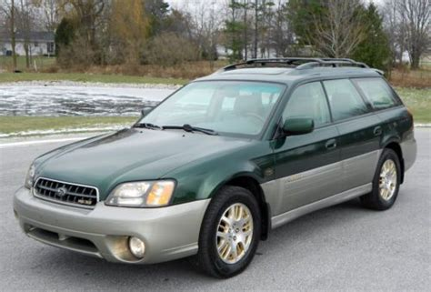 how to fix cars 2003 subaru outback electronic toll collection purchase used 2003 subaru outback ll bean edition clean every option look repair no reserve