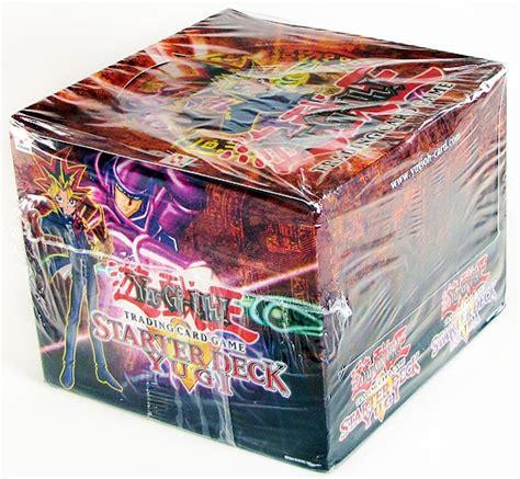yugioh deck box yu gi oh yugi kaiba 1st edition starter deck box da card