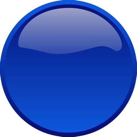 Blue Clipart button blue clip at clker vector clip