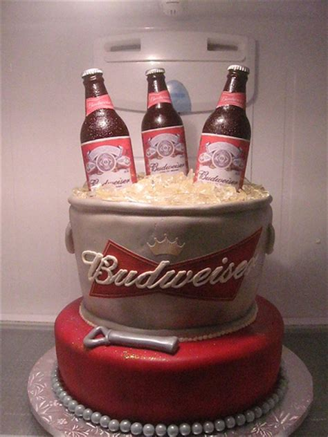 Budweiser Cake Flickr Photo