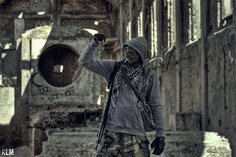Masker Urbex poland abandoned urbex s t a l k e r gas masks