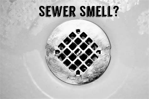 smell sewer gas in your house try this diy remedy before