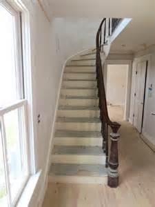 Good Interior House Designs #5: Staircase-before-refinish.jpg