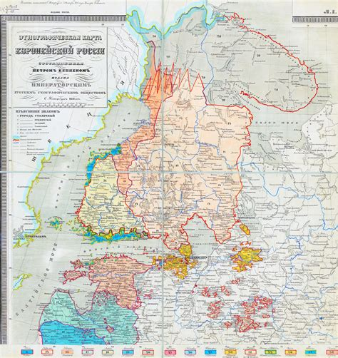 russia ethnic map whkmla russian empire government of petersburg