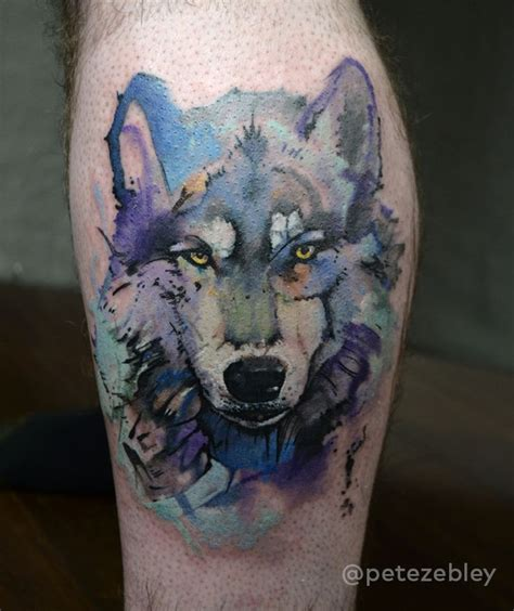 watercolor tattoos pennsylvania 17 best ideas about watercolor wolf on