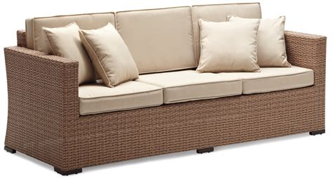bambo sofa best outdoor wicker sofa how to decorate outdoor wicker