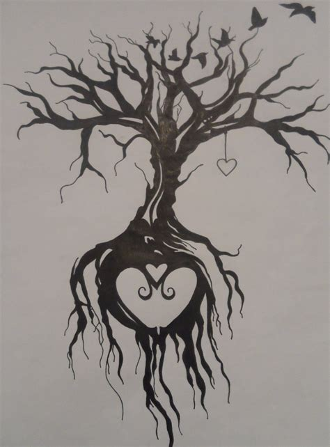 tree roots tattoo designs tree of by emmybunny deviantart on