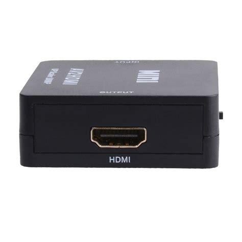 Hdmi To 3rca Mini Converter mini composite av cvbs 3rca to hdmi converter