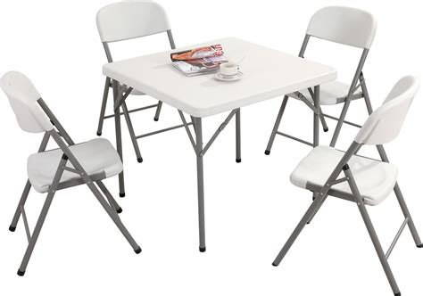 10 foot folding table 2ft 10in square folding table and chairs