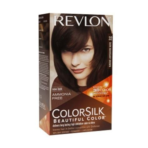 Revlon Semir Rambut cat rambut black brown cat rambut black brown brown