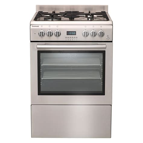 Gas Cooktop Electric Oven electric oven gas cooktop gteos60 euromaid