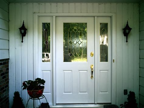 white exterior door glerum renovations