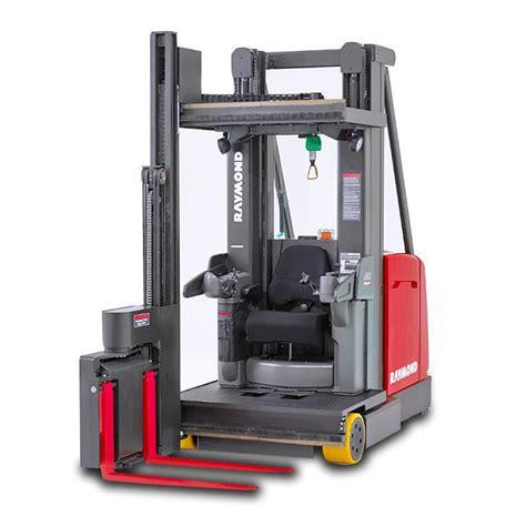 swing reach trucks raymond products toyota industries corporation