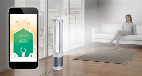 Dyson's latest air purifier measures your air quality