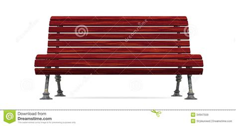 red wood bench red wood slat bench isolated royalty free stock images