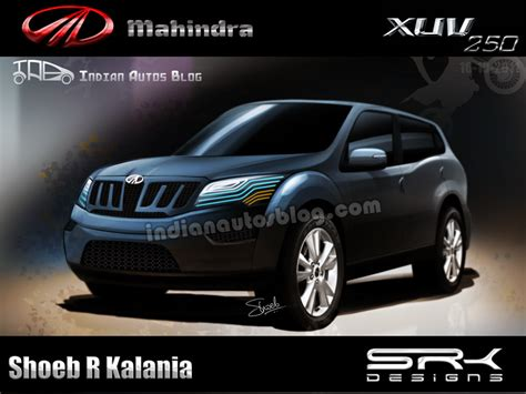 xuv500 design concept mahindra xuv250 is it a realistic possibility
