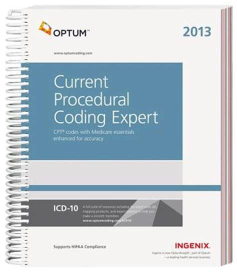 current procedural coding expert 2018 spiral books current procedural coding expert 2013 ingenix optum