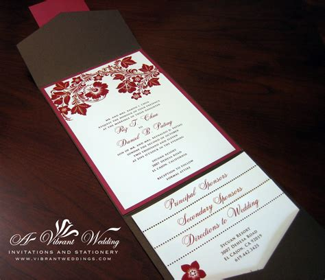 Wedding Invitations Fall Theme by And Orange Wedding Invitation A Vibrant Wedding