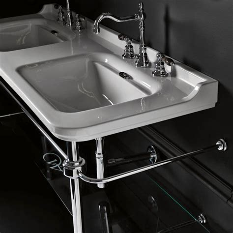 bathroom sink with legs faucet com waldorf 4143k1 01 9195k1 in 1 faucet hole by