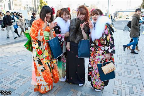coming of age coming of age day 2011 tokyo kimono pictures