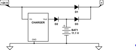 power oring diode diode oring and charger electrical engineering stack exchange