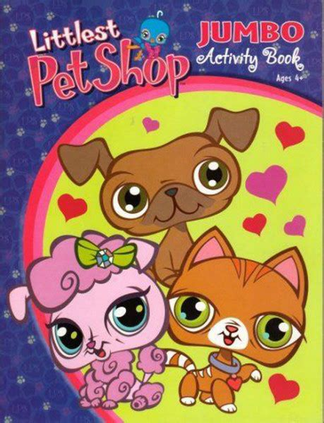 lps coloring book littlest pet shop coloring and activity book 1ct