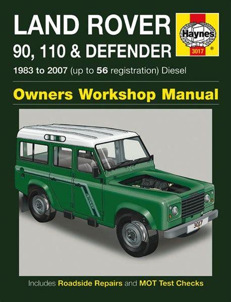 online car repair manuals free 2001 land rover discovery series ii electronic throttle control haynes reparationshandbok land rover 90 110 defender universal 28 35 skruvat com