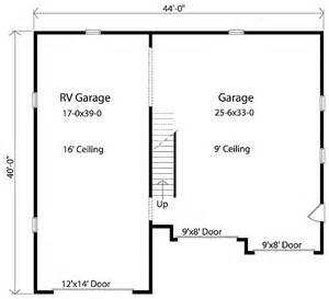 Rv Garage Floor Plans by Rv Garage With Loft 2237sl Cad Available Pdf