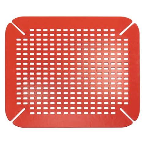 kitchen sink protective mats interdesign contour kitchen sink protector mat home garden dining tools utensils mats grids