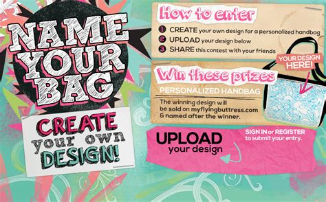design your bag contest design your own handbag contest with sweetyhigh com and