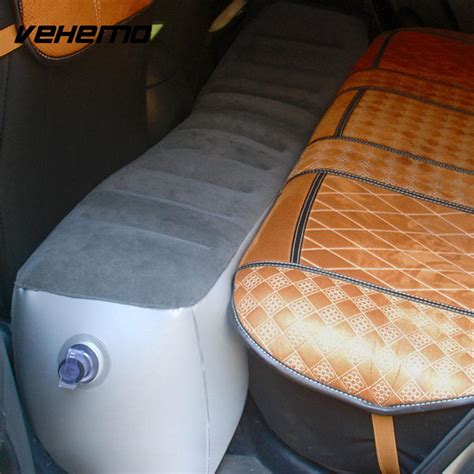 vehemo gap pad car  seat air mattress inflation bed