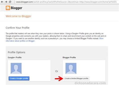 Membuat Blog Baru Gratis | cara mudah membuat blog baru gratis di blogspot blogger