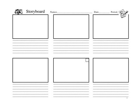 Keynote Storyboard Template Keynote Storyboard
