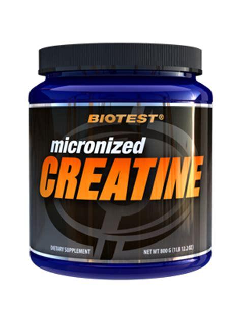test e creatine creatine ultra and micronized biotest