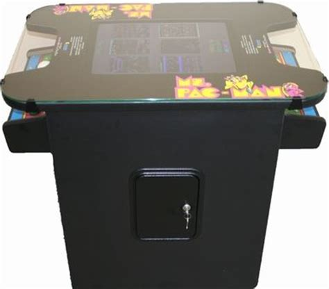 ms pacman galaga pac man 60 classic 80 s cocktail table
