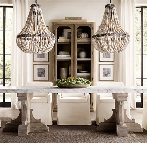 Upholstered parsons dining room
