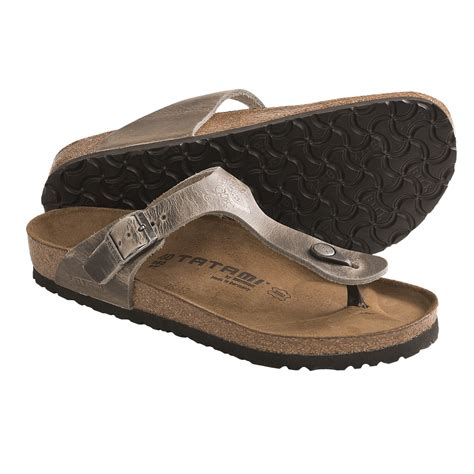 tatami sandals tatami by birkenstock madrid impression sandals leather