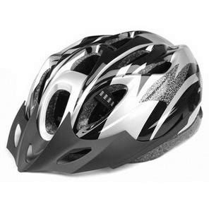 Helm Sepeda Eps Foam Pvc X31 Black Silver helm sepeda eps foam pvc x31 black silver