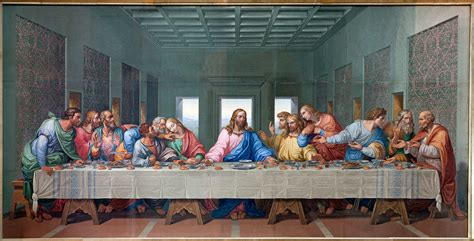 a hidden message in da vinci s last supper painting the